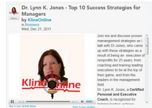 10 Success Strategies for Managers by Dr. Lynn K. Jones