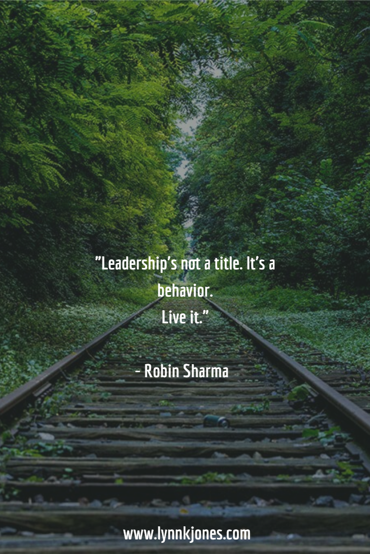 Leadership is not just a title