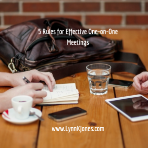 Effective One-on-One Meetings are Imperative