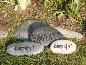 """Simplify by Saying """"No"""""""