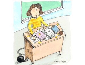 Are you chained to your desk?